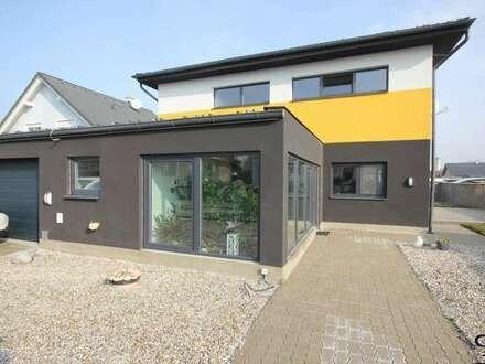 >>>Neues Modernes Niedrigenergiehaus in ruhiger Wohnsiedlung