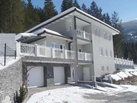 SALZBURG-GASTEIN - BERGENSEMBLE: Villa zum Top-Preis in sonniger Panoramalage und edlen SPA-Bereich!
