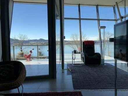 Moderne Villa mit traumhafter Seesicht und eigenem Badeplatz
