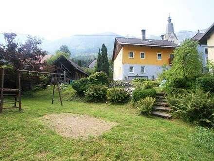 RESERVIERT*** Bad Bleiberg: Bastlerhaus mit großem Garten und Gartenhütte ***