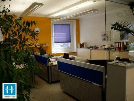 ENNS - 144m² Büro mit 209,10m² Lagerfläche nähe Bahnhof Enns zu vermieten