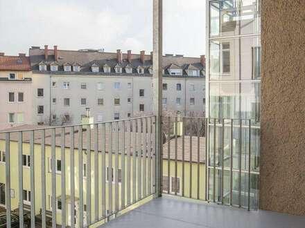 Wohnen in der Raimundstraße - tolle 78,80m² Wohnung mit gemütlichem, hofseitigem Balkon - LINZ-RAIMUNDSTRASSE