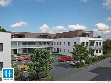 moderne Dachterrassenwohnung mit 100m² Wohnfläche (4 Zimmer) - Wohnen für Generationen 2 - 28 moderne Eigentumswohnungen - HINZENBACH/EFERDING