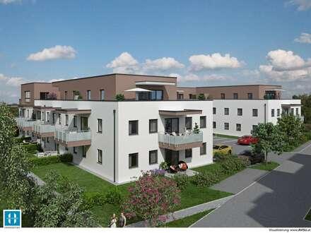Familienwohnung mit 98m² Wfl., Eigengarten und großer Terrasse - Wohnen für Generationen 2 - 28 moderne Eigentumswohnungen - HINZENBACH/EFERDING