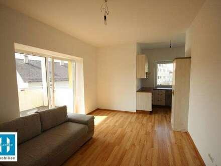 neuwertige 58,77m² Wohnung mit gemütlichem Balkon nahe dem Grieskirchner Zentrum zu vermieten