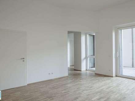 Wohnen in der Raimundstraße - tolle 73,88m² EG Wohnung mit hofseitiger Terrasse - LINZ-RAIMUNDSTRASSE