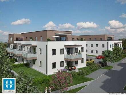 Tolle Familienwohnung mit 101m² und Eigengarten - Wohnen für Generationen 2 - 28 moderne Eigentumswohnungen - HINZENBACH/EFERDING