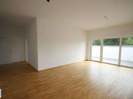 PROVISIONSFREI!! geräumige 2 Zimmer Wohnung mit traumhafter Dachterrasse und großem Badezimmer - Stilvoll Wohnen in Peuerbach