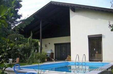 Traumhaftes Einfamilienhaus mit Pool in Mannersdorf am Leithagebirge