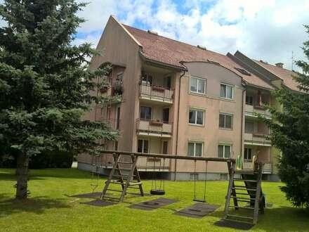 Garten-Blick im Erdgeschoss von Villach