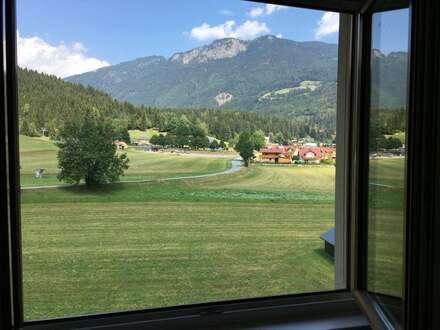 AKTION und Blick aus dem Fenster!