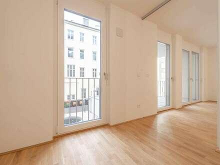 praktisch geschnittene 2 Zi.-Wohnung in der Margaretenstraße 25 - Erstbezug ab sofort!