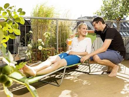 Sie hassen den Winter? Ideal für Sonnenanbeter Terrasse, Balkon und provisionsfrei!!