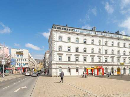 Geschäftslokal mit Lager und Tresor // shop or office with huge storage spaces in prime location