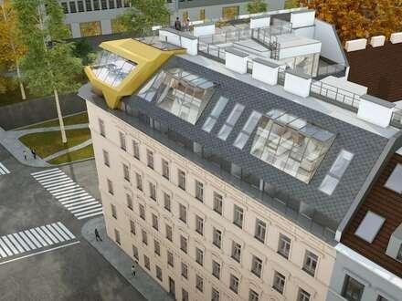 traumhafte Dachgeschoss-Wohnung in bester Lage