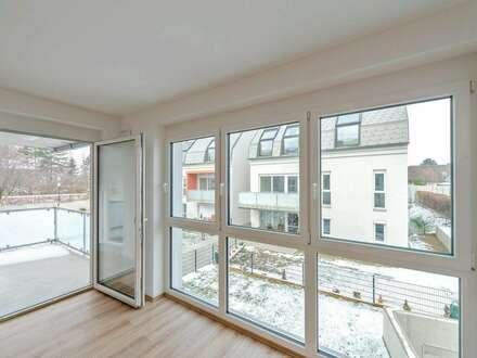 ERSTBEZUG: 2 Zimmer Wohnung mit idealer Raumaufteilung und Terrasse!