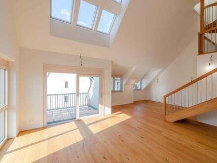 Neubau-Galeriewohnung   5 Zimmer   Erstbezug   Galerie   Dachterrasse   Balkon (T6)