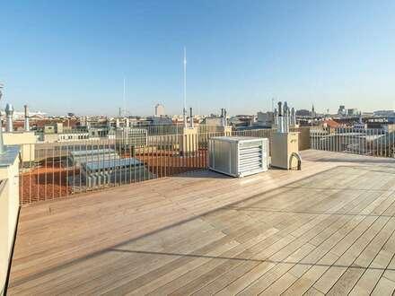 Luxuriöse 3 Zimmer Erstbezugswohnung mit 87m² Dachterrasse // Projekt Leopold
