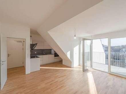VIDEO-TOUR: exklusive, ruhige Erstbezugswohnung mit Balkon, Kamin, Klimaanlage in idealer Stadtlage!