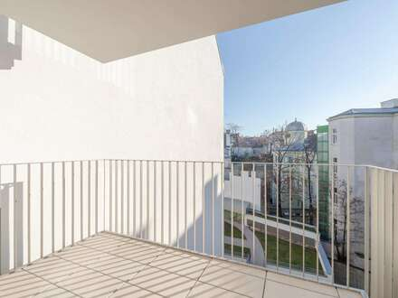 VIDEO-TOUR: ruhige 4 Zimmer-Wohnung mit Balkon inmitten der Stadt - ERSTBEZUG ab sofort!