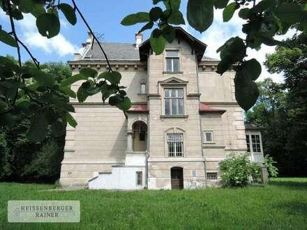 Klassich und romantisch im eigenen Landschaftspark am Kurpark Gars - historische Prachtvilla im Waldviertel