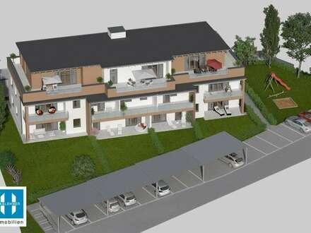 neue 93,52m² Gartenwohnung in Dorf an der Pram - MIETKAUF