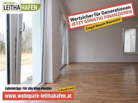 Haus 15! Doppelhaushälfte im Wohnpark Leithahafen! (Eckhaus) -wpls