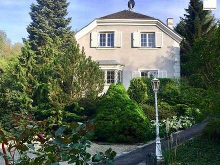 Familien-Villa mit großem Grund - ruhige Klosterneuburger Grünlage - Pool