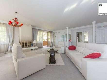 Herrlicher Blick auf die Dolomiten: Klassische Landhaus-Villa mit exklusiver Innenausstattung