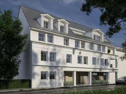 Schöne DG-Wohnung mit zwei Terrassen! absolute Hofruhelage!