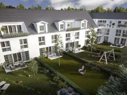 Neubau ohne Provision! Terrasse und Garten! Garagenplätzen!
