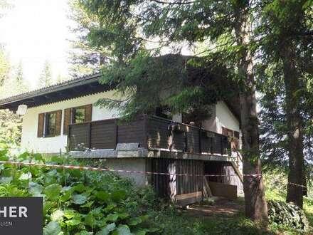 Gelegenheit! Ferienhaus auf der Sonnenalpe Nassfeld