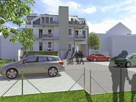 Neubau Stadtvillenwohnung | 70m² WFL + 12m² Balkon | Top 6 Var Dachgeschoss