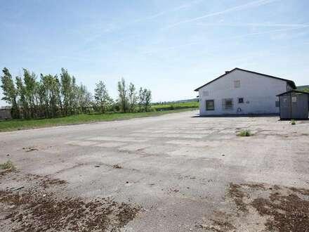 Gewerbefläche (ca. 7.000 qm) mit unbeheizter Lagerhallen
