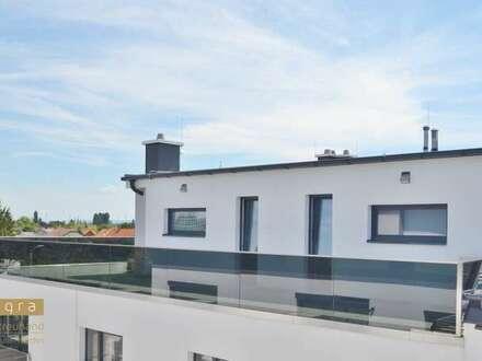 Herrliche Dachgeschoßwohnung mit 164 m² Dachterrasse, keine Dachschrägen! 2 Badezimmer, provisionsfreier Erstbezug