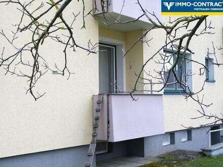 Kernsanierte sonnige 3-Zimmer Wohnung mit Balkon in Frankenmarkt