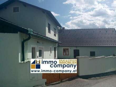 Zwei Häuser zum Preis von einen, Zweifamilienhaus mit schöner Aussicht in Grafenbach