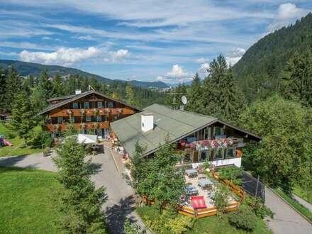Gut geführtes drei Sterne Hotel / Appartementhaus mit starker Sommer- und Wintersaison in Hirschegg / Kleinwalsertal