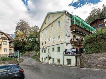 Bad Gastein - Hotel / Pension / Kurhaus - Restaurant sowie Baugrundstück - VIDEO