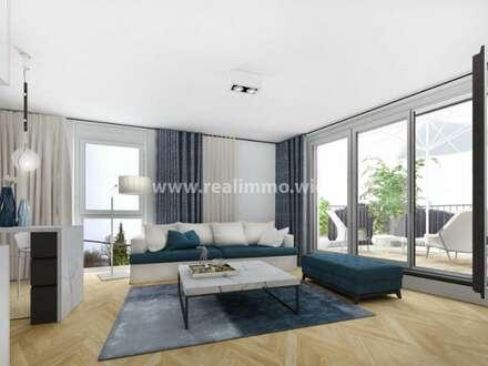 Neubauprojekt mit 26 WE von 40 - 107 m² mit Garten oder Balkon/Terrasse - Top 3 - 1110