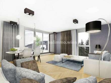 Neubauprojekt mit 26 WE von 40 - 107 m² mit Garten oder Balkon/Terrasse - Top 3