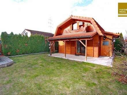 Haus mit idyllischem Garten