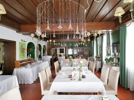 Gasthof mit Tradition und romantischem Gästepark inklusiv Ferienhausanlage im Südburgenland