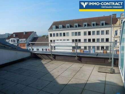 Top 2-Zimmer Neubauwohnung mit Dachterrasse im Zentrum von Amstetten zu vermieten!