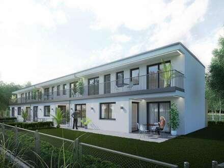 Erstbezug im idyllischen Strasshof! 121m²-127m² mit Eigengärten und Terrassen!