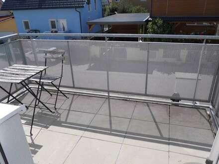 Schöne, gepflegte 4 Zimmerwohnung mit Balkon im Grünen