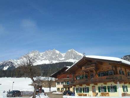 Luxuswohnung im Bauernhaus in sagenhafter Alleinlage - Nähe Going /Kitzbühel