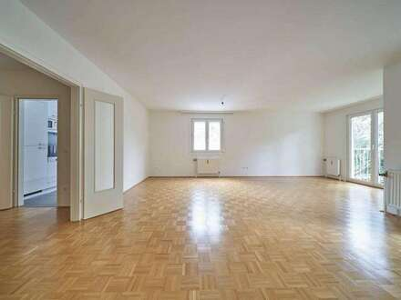 Sonnige Terrassenwohnung in Ruhelage - nahe AMERICAN INT. SCHOOL (AIS) **4 Zimmer, Balkon, Gartennutzung, Garage**