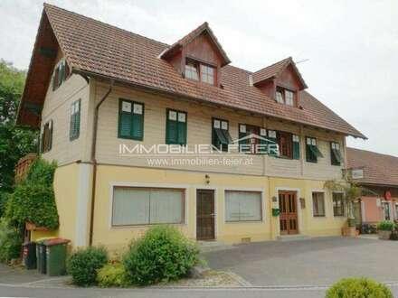 Liegenschaft mit vielen Nutzungsmöglichkeiten im Ortskern von Weinburg