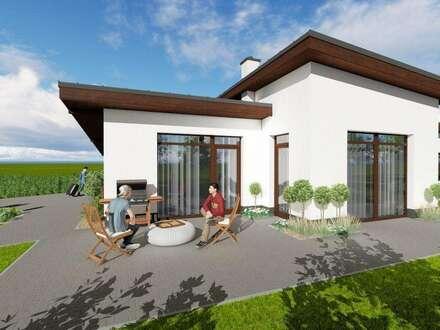 Traumhafter Bungalow mit sonniger Terrasse und großer Grünfläche in Leitersdorf